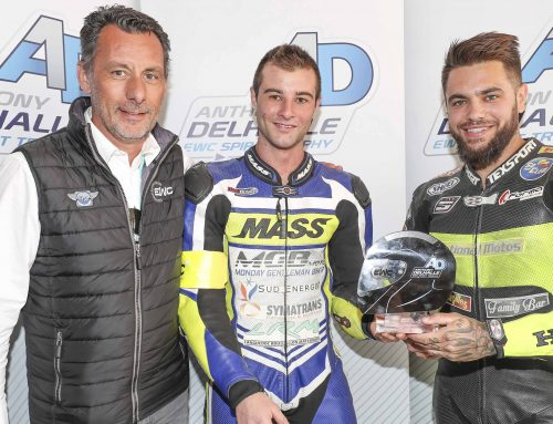 Anthony Delhalle EWC Spirit Trophy pour National Motos