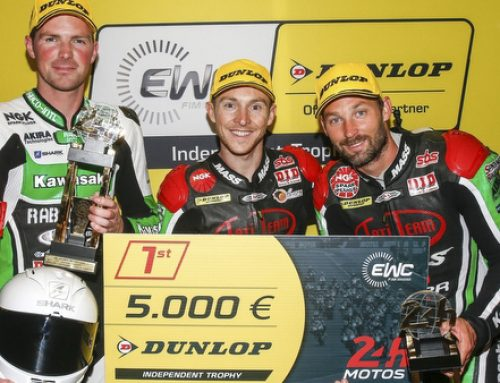 Tati Team Beaujolais Racing, vainqueur du EWC Dunlop Independent Trophy